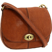 Fossil Carson Flap Crossbody Saddle - Zappos.com Free Shipping BOTH Ways