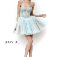 Sherri Hill 21156 Beautiful Lace Dress