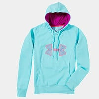 Under Armour Women's Armour® Fleece Storm Embroidery Big Logo Hoodie