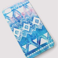 Blue Tribal Painting Mobile Phone Case