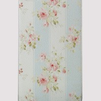 Strips Floral Mobile Phone Case