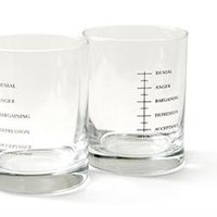 Set of Two Good Grief Tumbler Glasses