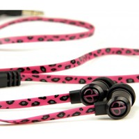 chicBuds Fashion Audio ARTS Earbuds Pink Leopard - Shop | Earphones, Headphones and Speakers