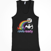 Plur Puke Pets Panda Tank Top : Rave Tank Tops From RaveReady