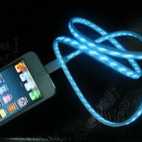 iPhone 5 LED Charger - The Only iPhone Charing Cable Sold on Amazon with a Lifetime Guarantee! - USB Charger Cable - Be the First of Your Friends to Have This New Premium LED iPhone 5 Lightning Charger Cable!