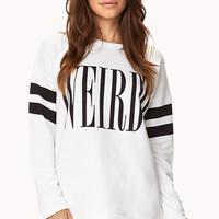 Weirdo Striped Sweatshirt