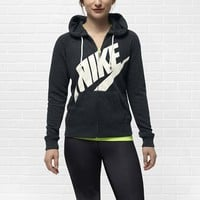 Nike Rally Full-Zip Women's Hoodie - Black