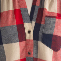 Bonfire Stories Top | Mod Retro Vintage Short Sleeve Shirts | ModCloth.com