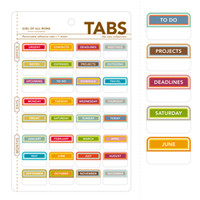 Office Tabs - See Jane Work