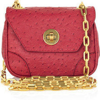 Marc by Marc Jacobs|Perfect Purse ostrich-effect PVC bag|NET-A-PORTER.COM