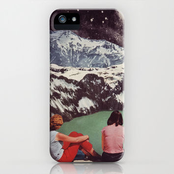 GLACIAL iPhone & iPod Case by Beth Hoeckel Collage & Design