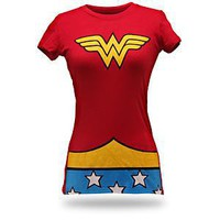 ThinkGeek :: Wonder Woman Costume Babydoll