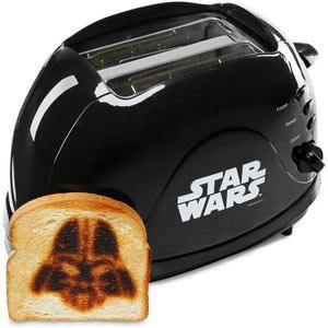 ThinkGeek :: Darth Vader Bread Imprinting Toaster