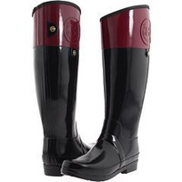 Hunter Regent Carlyle Tall Rain Boots Very Berry Size 10