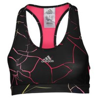 adidas Techfit Shatter Print Bra - Women's at Foot Locker