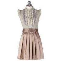 all I have for you taupe dress - $52.99 : ShopRuche.com, Vintage Inspired Clothing, Affordable Clothes, Eco friendly Fashion