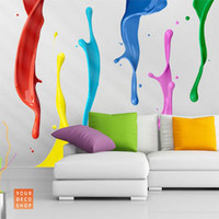 Colour Splash Wall Sticker Set