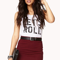Knit Mini Skirt | FOREVER 21 - 2040495785