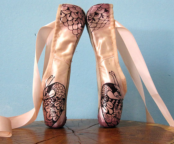 How To Dye Pointe Shoes Black