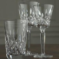 "Waterford Crystal-""Lismore"" Crystal Stemware-Horchow"