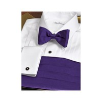 Paul Fredrick Performance 5-Pleat Tuxedo Shirt