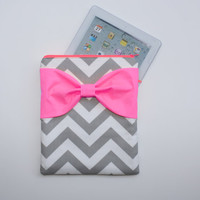 Neon iPad Case / Android Tablet Sleeve  by AlmquistDesignStudio