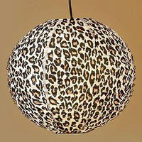 Cheetah Print Paper Lantern - Cost Plus World Market