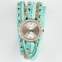 Studded Wrap Watch
