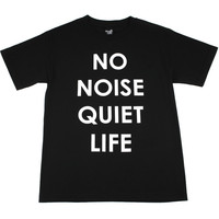 "THE QUIET LIFE T-Shirt ""No Noise"""