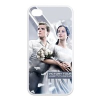 The Hunger Games Iphone 4 4S Case Hunger Games 2 Personal TPU Cases Cover White