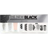 Mesh & Lace Nail Color & Accessories Set