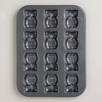 Nonstick Owl Cakelet Pan | World Market