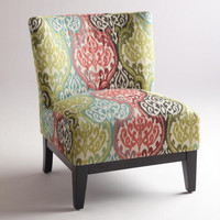 Multicolored Ikat Rio Darby Chair | World Market