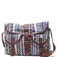Kirra Tribal Canvas Crossbody Bag at PacSun.com
