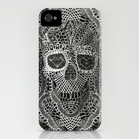 Lace Skull iPhone Case by Ali GULEC | Society6
