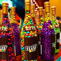 Wanting these jars of m&ms