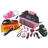54 Piece Roadside Tool Kit- Pink-DT-0515P