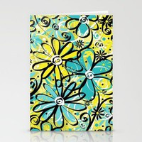 Feeling Groovy... Stationery Cards by Lisa Argyropoulos | Society6