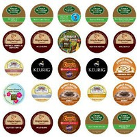 Crazy Cups Flavored Coffee Sampler, K-Cup Portion Pack for Keurig K-Cup Brewers (Pack of 35)