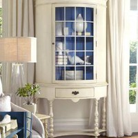 Pamlico Half-Round Cabinet