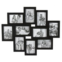 "10-Opening Collage Frame - Black (10-4x6"")"