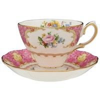 Royal Albert Lady Carlyle Teacup & Saucer Boxed 6,85 onças