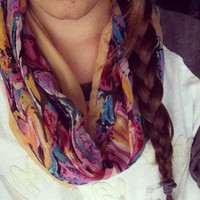 The Steph Infinity Scarf by tailoredhope on Etsy