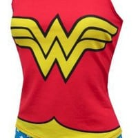 Wonder Woman Cami & Panty Set for women
