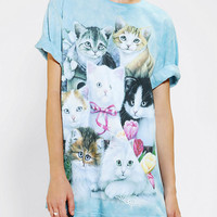 Urban Outfitters - The Mountain Soft Group Cat Tee
