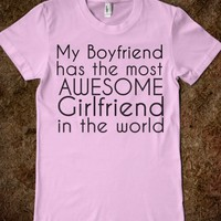 Awesome Boyfriend/Girlfriend T-Shirt