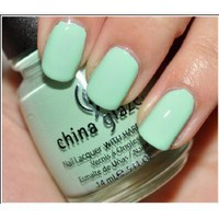 Amazon.com: China Glaze up &amp; Away Collection: Re-fresh Mint #867/80937: Beauty