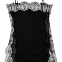 Agent Provocateur|Ingrid lace and silk-blend chemise|NET-A-PORTER.COM