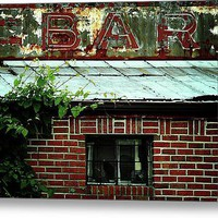 Passing The Bar Acrylic Print By Rebecca Sherman