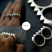 Minicyn studded knuckle duster by Minicyn on Etsy